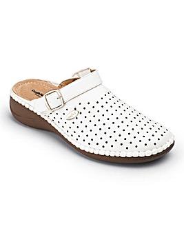 Cushion Walk Closed Toe Sandals E Fit