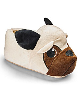 Heavenly Soles Novelty Pug Slipper