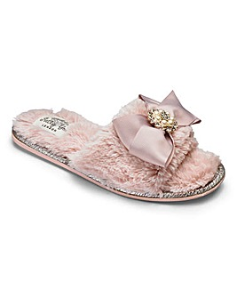 Pretty You Martha Bow Mule Slippers