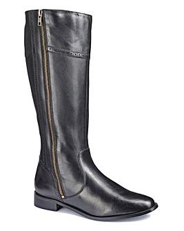 Legroom High Leg Boots E Fit Curvy