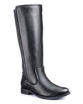 Legroom High Leg Boots EEE Standard Calf
