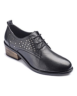 The Shoe Tailor Studded Shoes E Fit