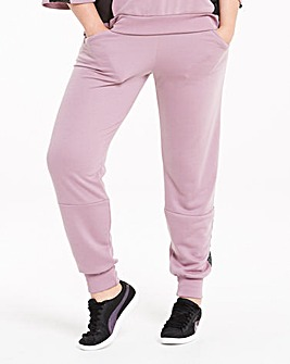Pink Clove Mesh Insert Sweat Pants