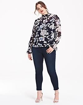 AX Paris Printed Blouse