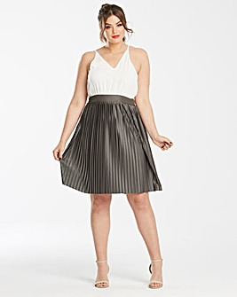 AX Paris Pleat 2 in 1 Dress