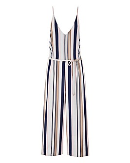 AX Paris Stripe Jumpsuit