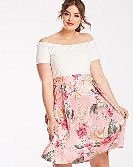 AX Paris Floral 2 in 1 Dress