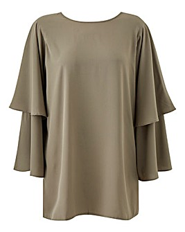 AX Paris Wide Bell Sleeve Tunic