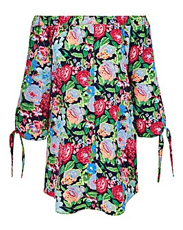 AX Paris Floral Bardot Top