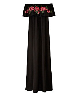 AX Paris Embroidered Maxi Dress