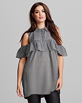 AX Paris Pin Stripe Tunic Dress