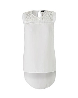 Lovedrobe Lace and Pleat Detail Top