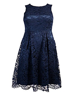 Lovedrobe Corded Lace Dress