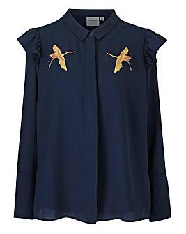 Junarose Bird Print Shirt