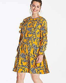 AX Paris Curve Printed Shift Dress