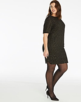 Oasis Curve Sparkle Shift Dress