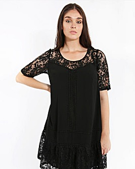 Lovedrobe Shift Lace Dress