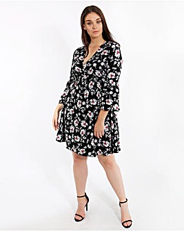 Lovedrobe Printed Empire Cut Dress