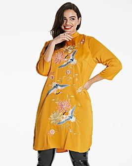 Glamorous Curve Oriental Dress