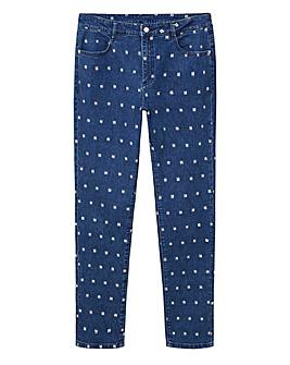 Violeta by Mango Sparkle Jeans