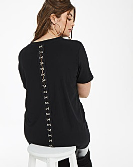 Daisy Street Hook and Eye Tshirt