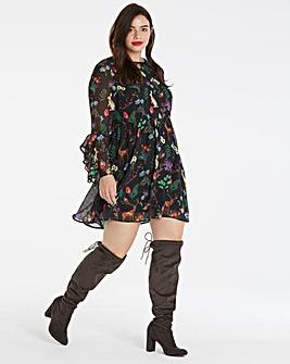 Unique 21 Woodland Frill Dress
