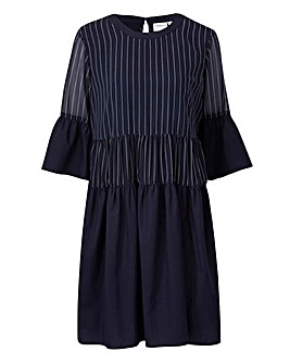Junarose Striped Smock Dress