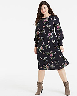 Oasis Curve Tatiana Midi Dress