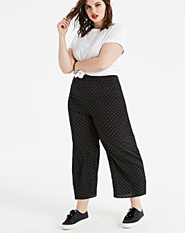 Fashion Union Spot Print Trouser