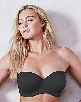 Elomi Smoothing Black Strapless Bra