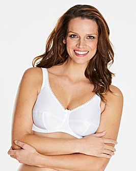Fantasie Cotton Lined White Bra