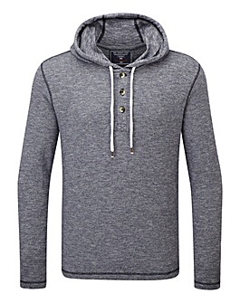 Tog24 Doyle Mens Deluxe Hooded T-Shirt