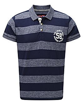 Tog24 Beech Stripe Mens Polo Shirt