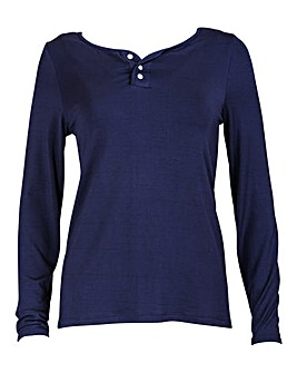 Pour Moi Moonstruck Long Sleeve Top
