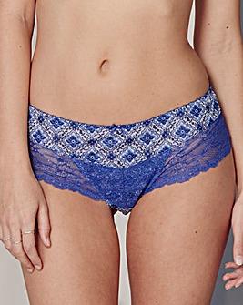 Panache Jasmine Mosaic Blue Briefs