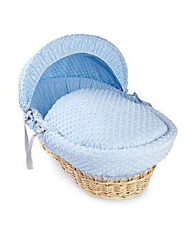 Dimple Wicker Basket
