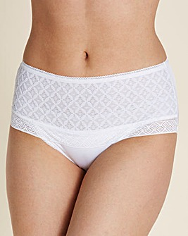 Miss Mary Stylish Lace Pantee Girdle