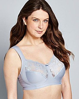 Miss Mary Non Wired Blue Bra
