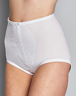 Playtex Control White Briefs