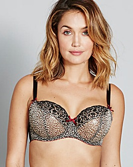 Curvy Kate Wild Cat Animal Print Bra