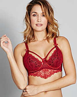Pour Moi Obsession Longline Ruby Bralet