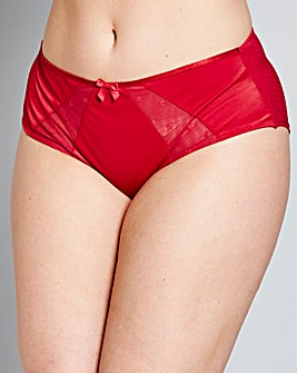 Sculptresse Candi Red Deep Briefs
