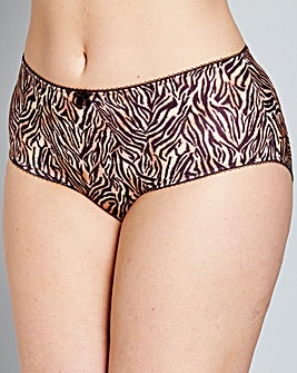 Goddess Kayla Tiger Print Briefs
