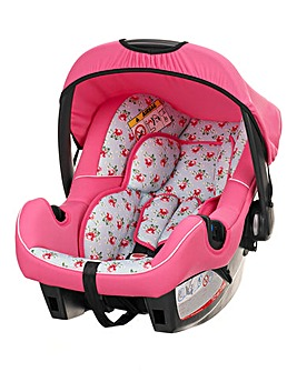 Obaby Hera 0+ Car Seat with Adaptor