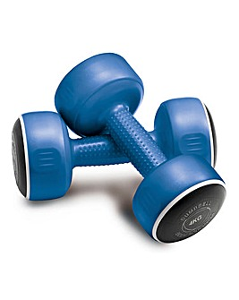 Bodysculpture Set of 2 x 4kg Dumbbells