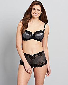 Gigi Full Cup Bra Black/Grey