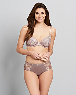Mocha/Rose Two Pack Ella Plunge Bras