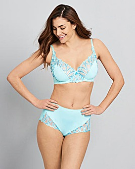 Amelie Embroidery Full Cup Bra Ocean/Min