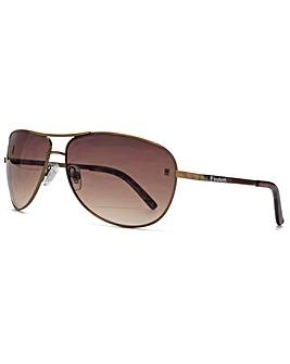 Fenchurch Round Aviator Sunglasses