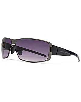 French Connection Metal Sport Sunglasses